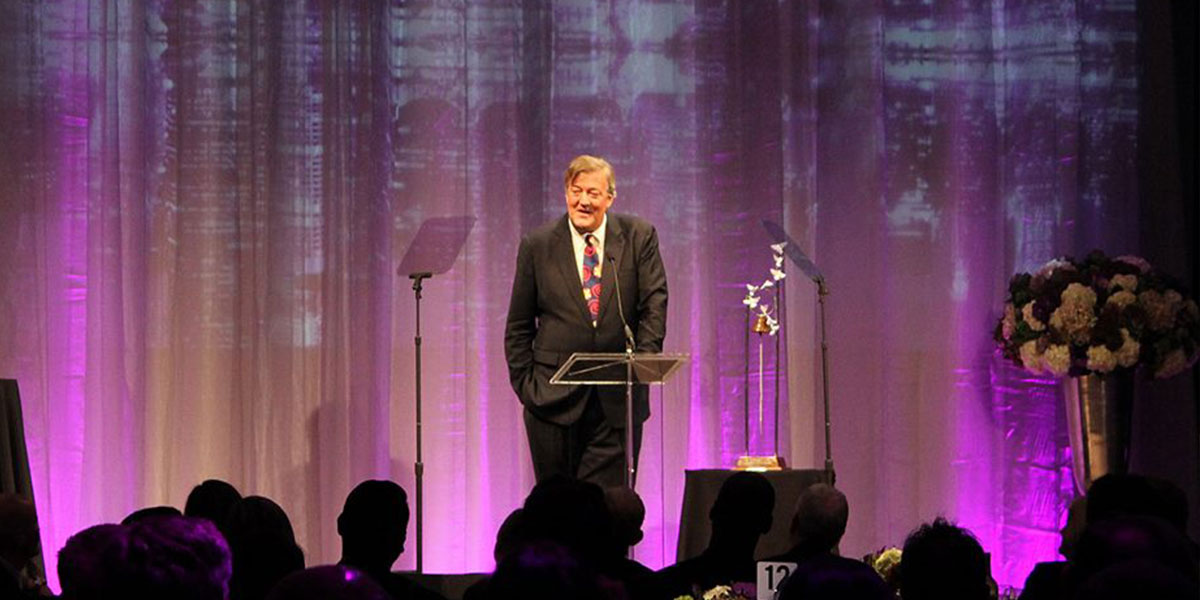Stephen Fry to be Honored by MSF