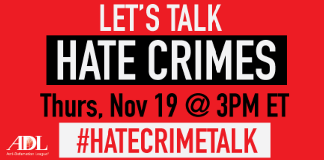 MSF participates in Hate Crimes Twitter Panel
